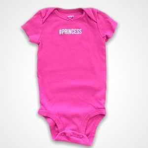 4/$20🥳 Carter's Princess Onesie
